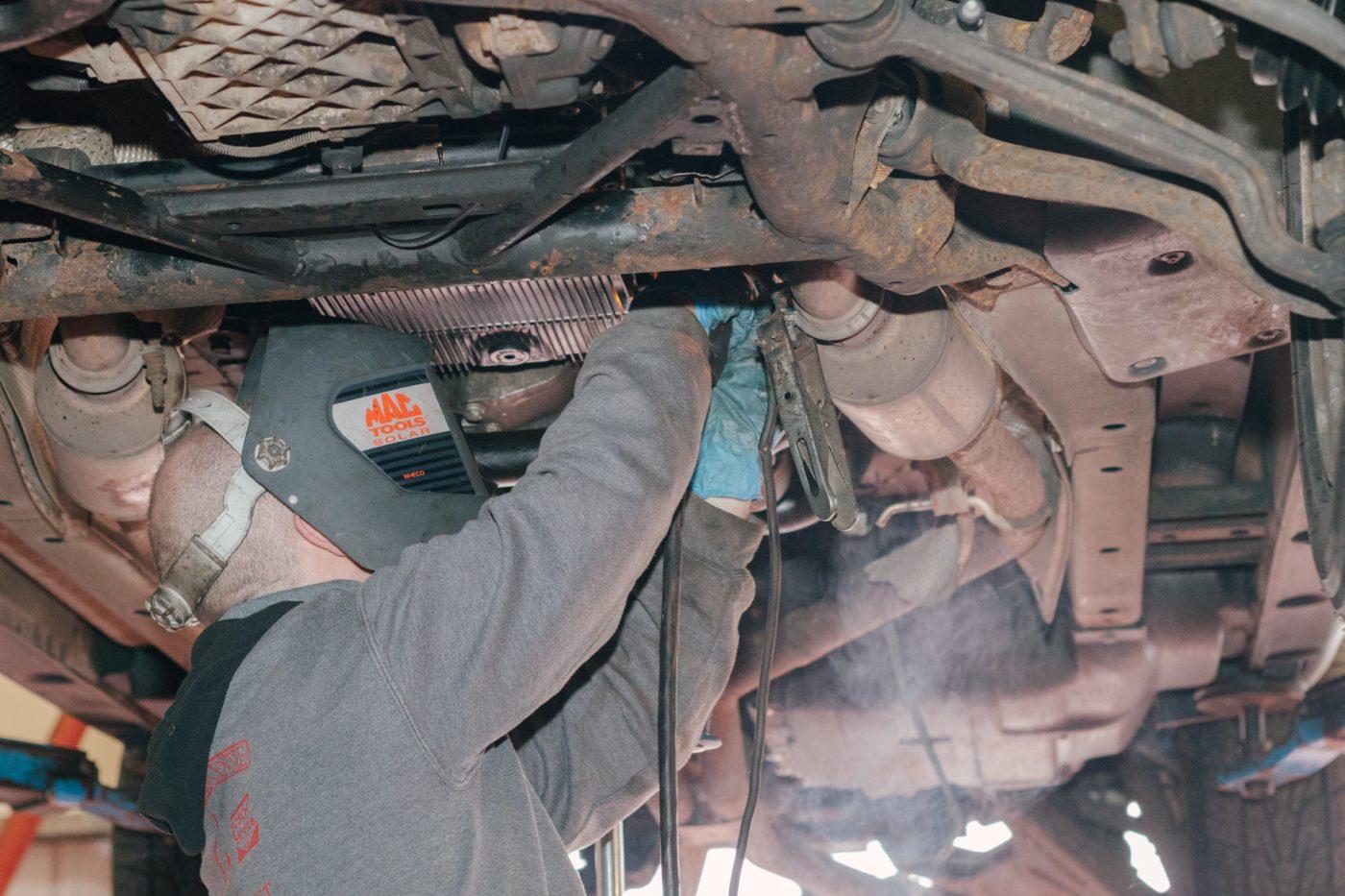 Diesel car repair