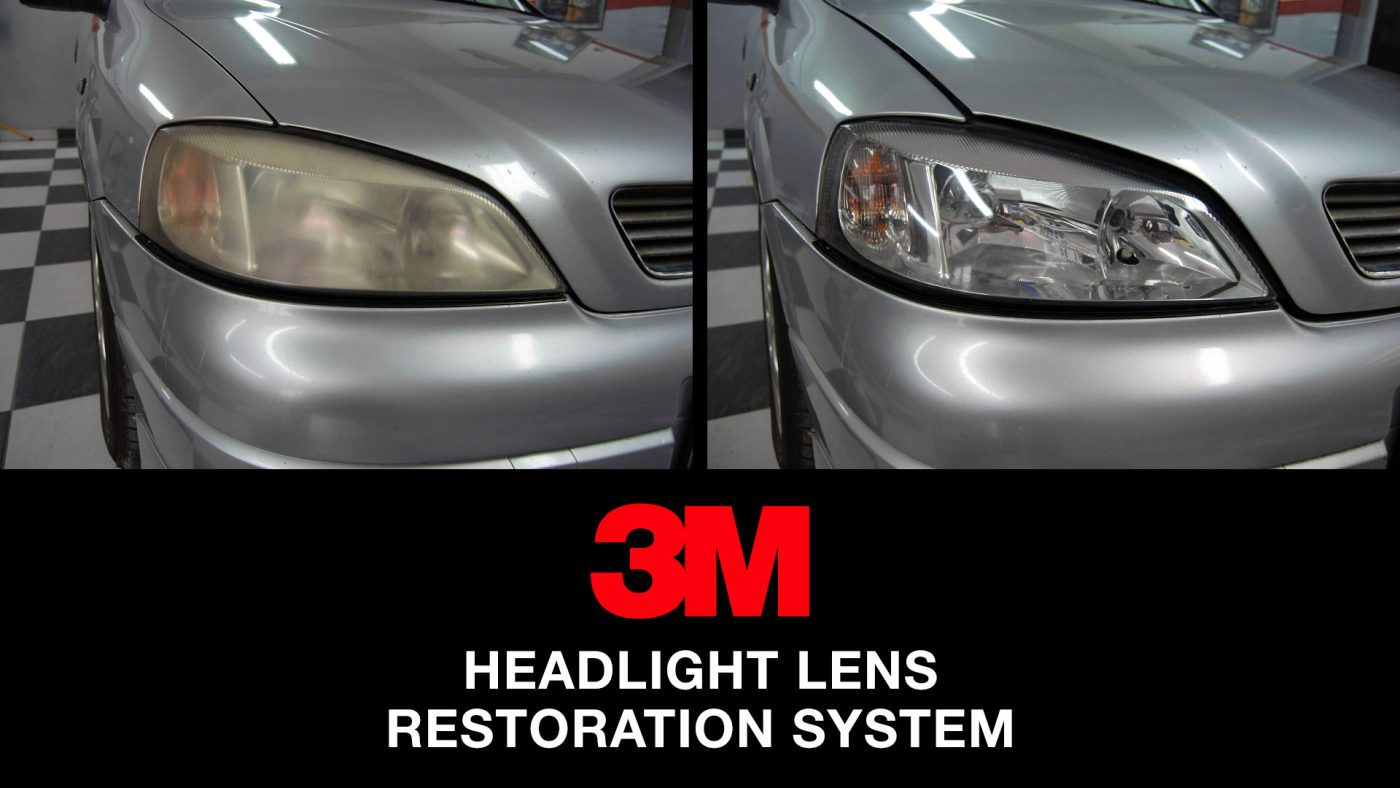 3M headlight restoration